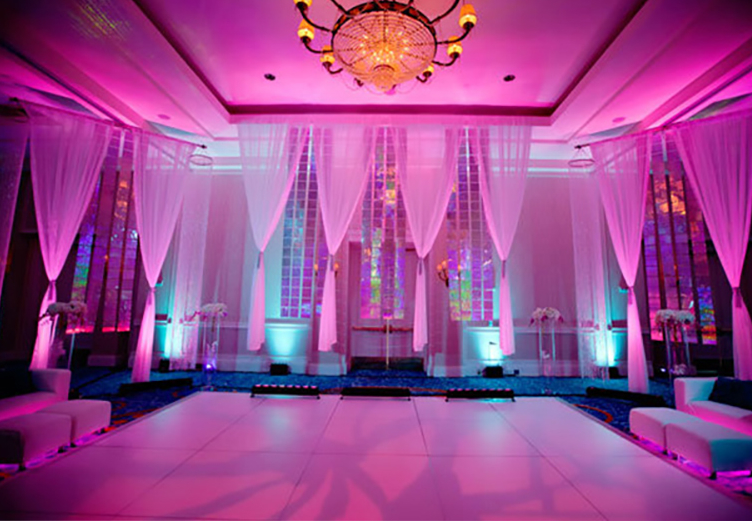 St louis wedding lighting dj service missouri photo booth